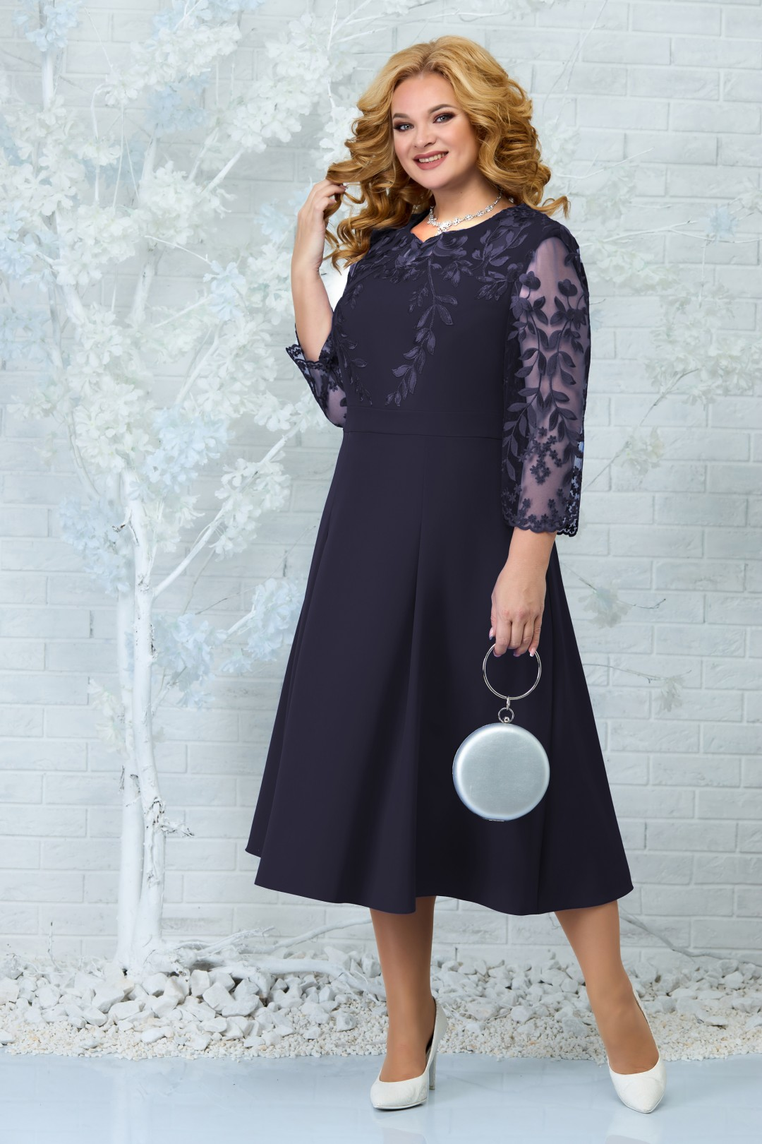 Платье Ninele 5847 синий