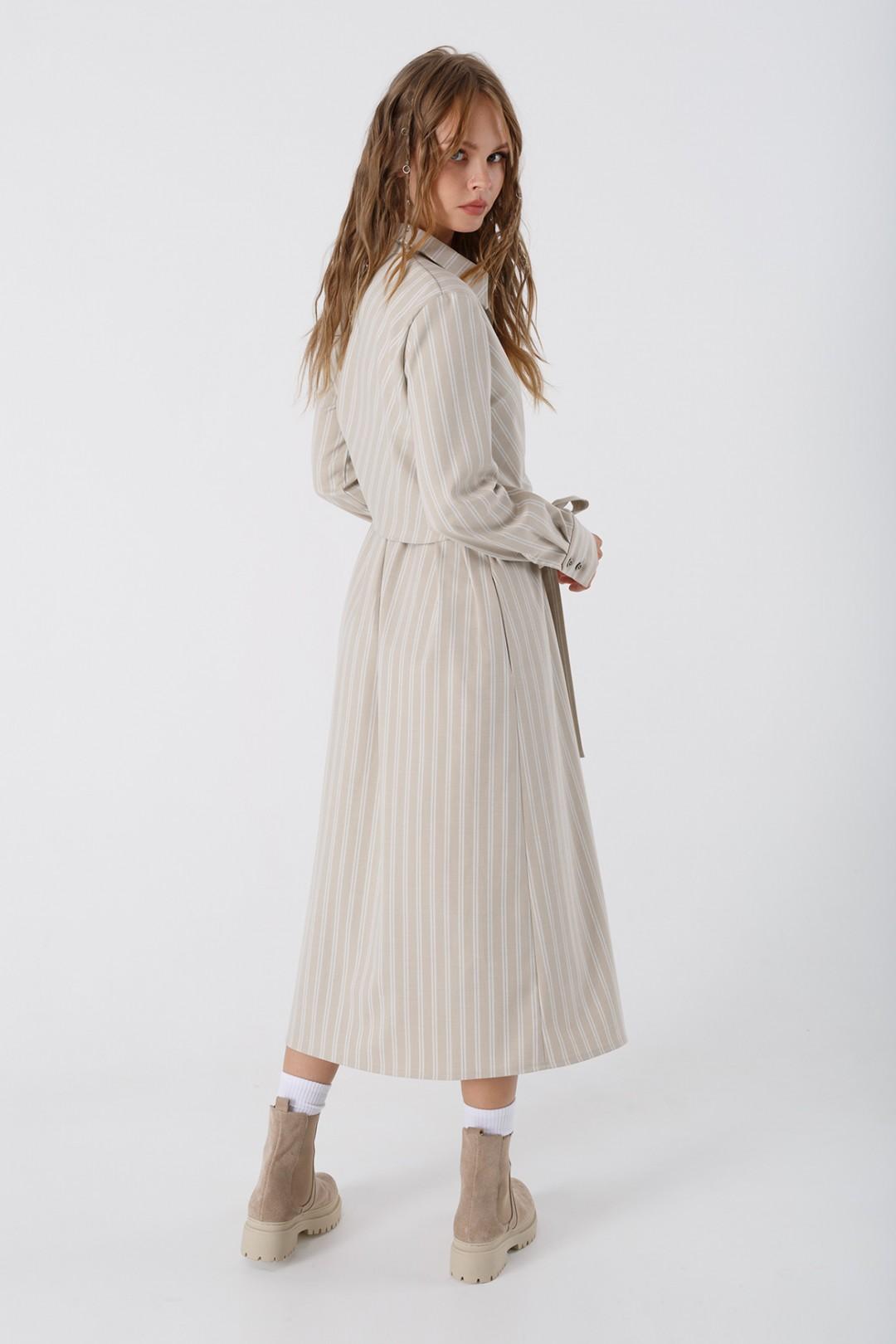 Платье Pirs 3369 бежевый