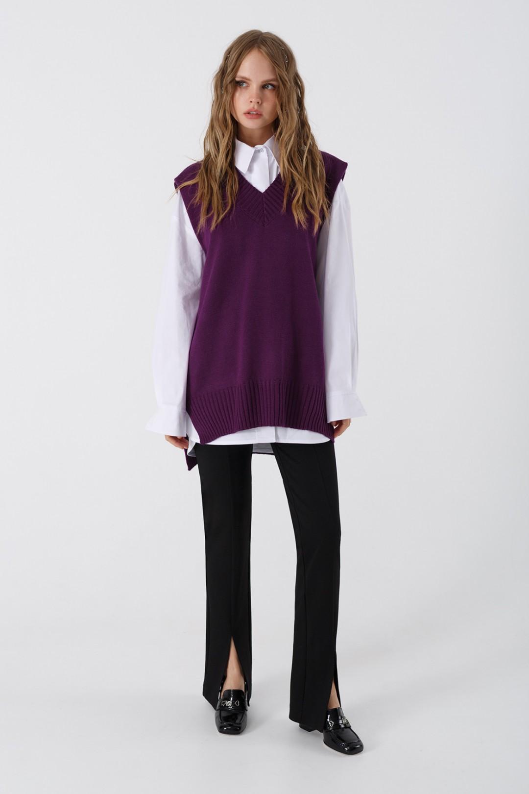 Комплект Pirs 3393 фиолетовый+ белый+ черный