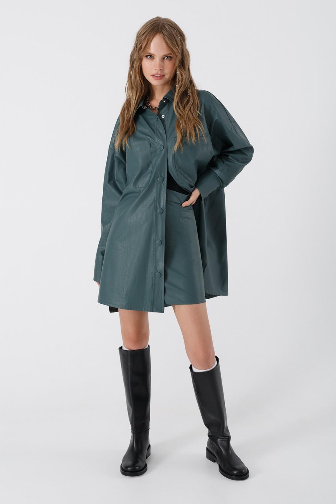 Костюм Pirs 3394 серо-зеленый