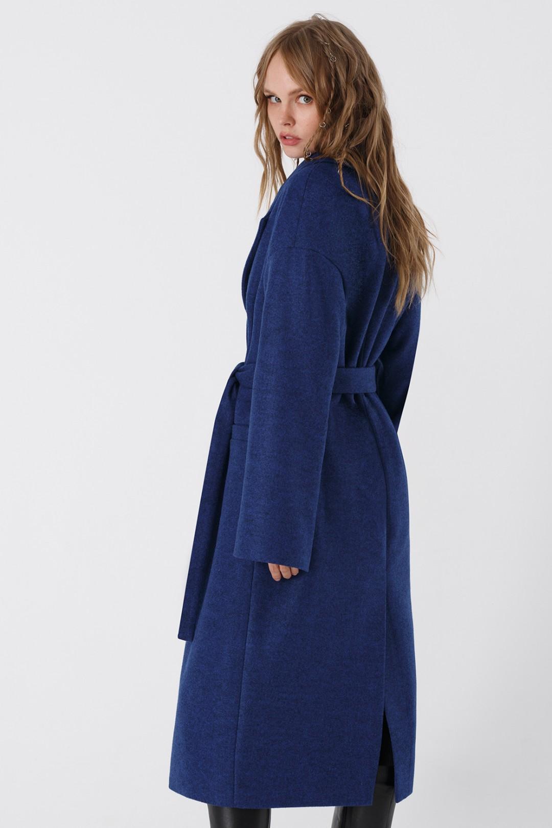 Пальто Pirs 3408 синий