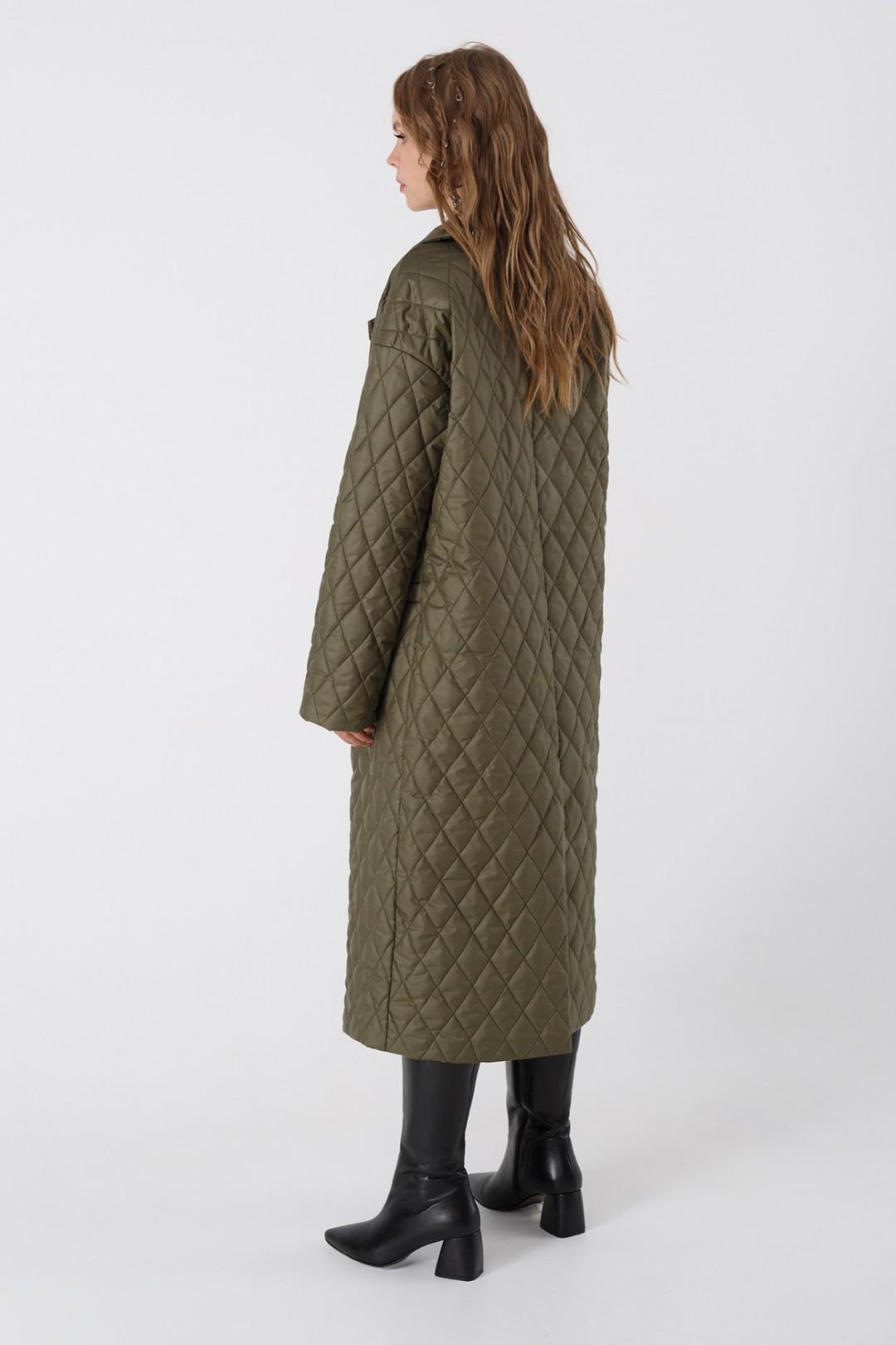 Пальто Pirs 3425 хаки