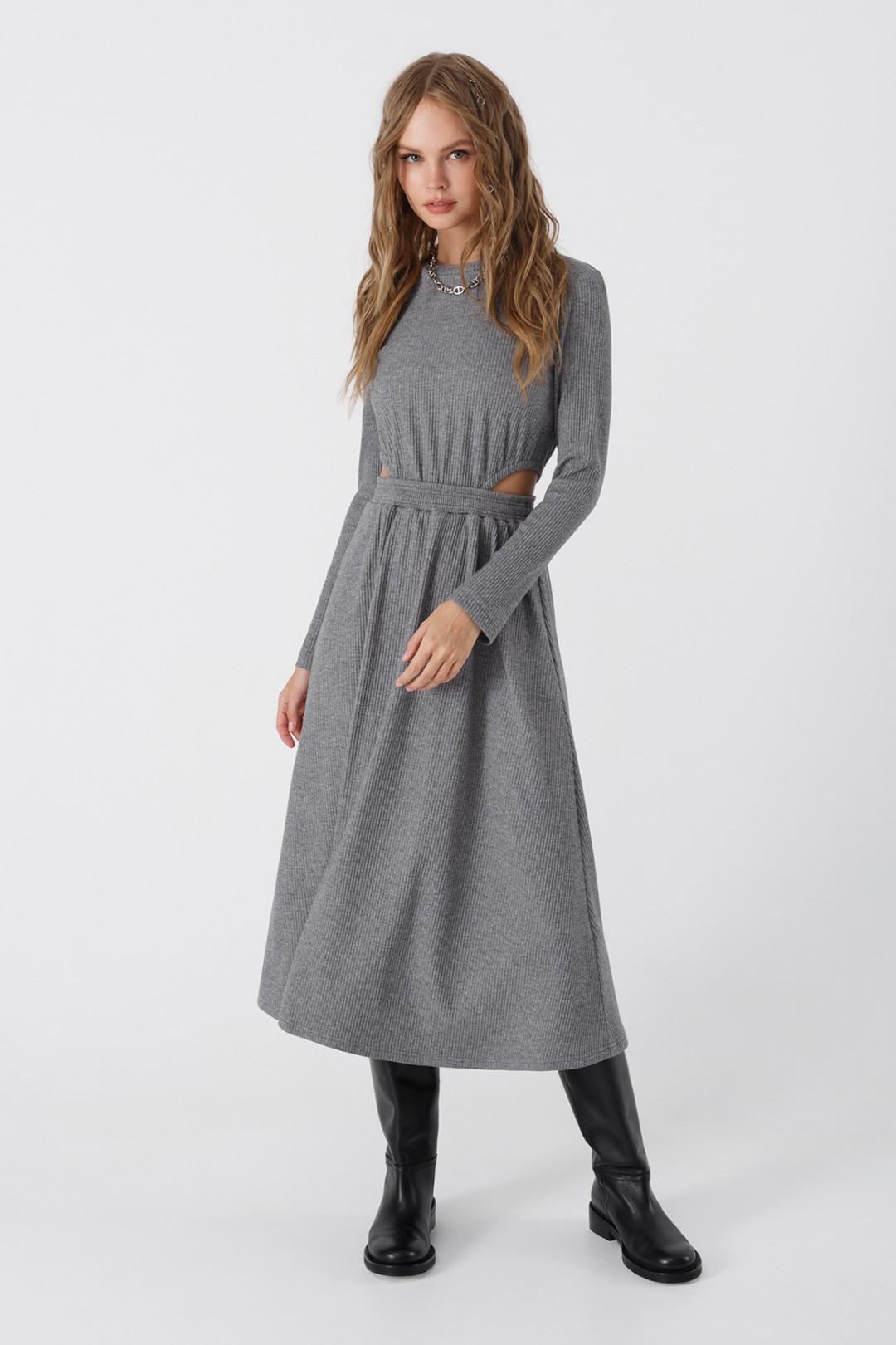 Платье Pirs 3444 серый