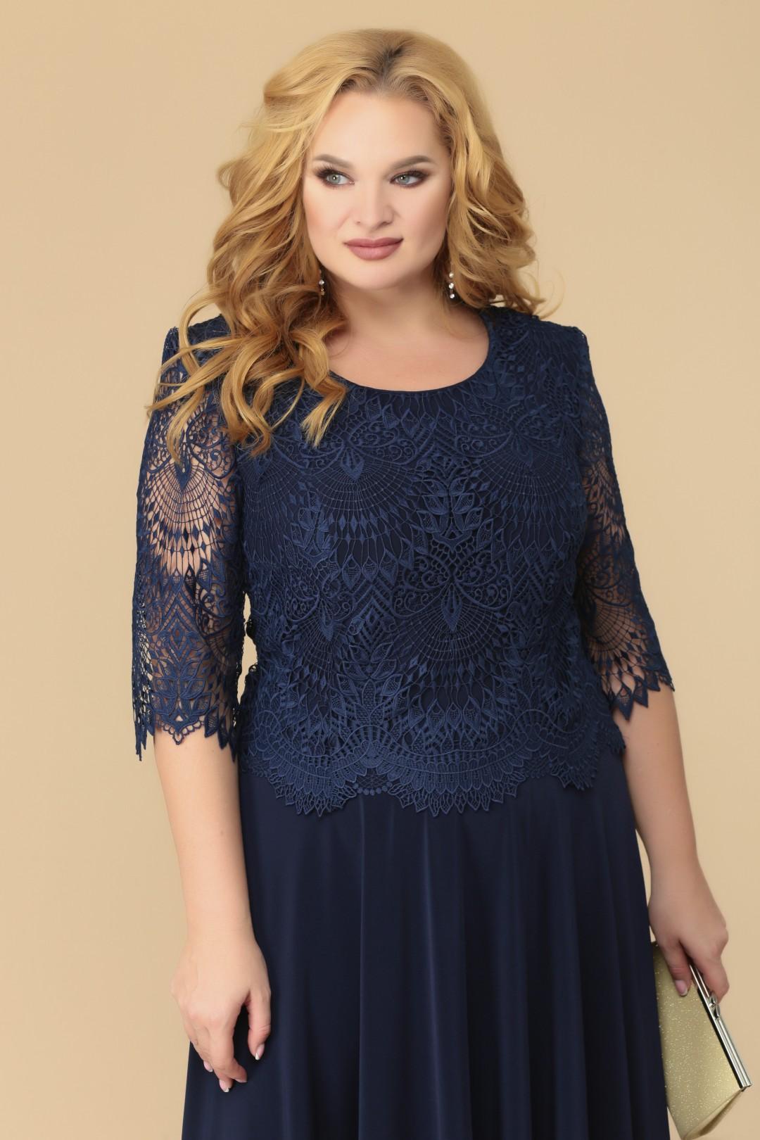 Платье Romanovich Style 1-1347 синий