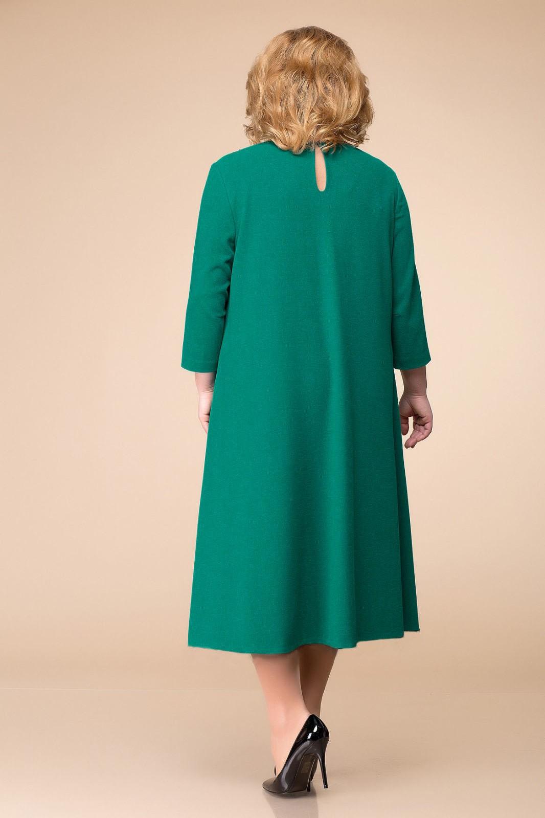 Платье Romanovich Style 1-1753 бирюза