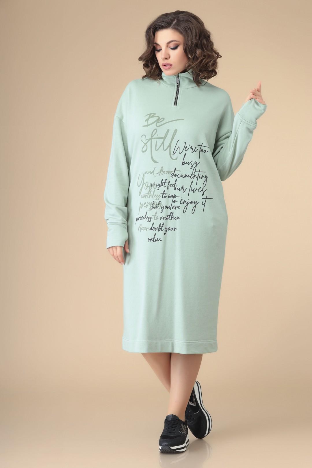 Платье Romanovich Style 1-2205 мята