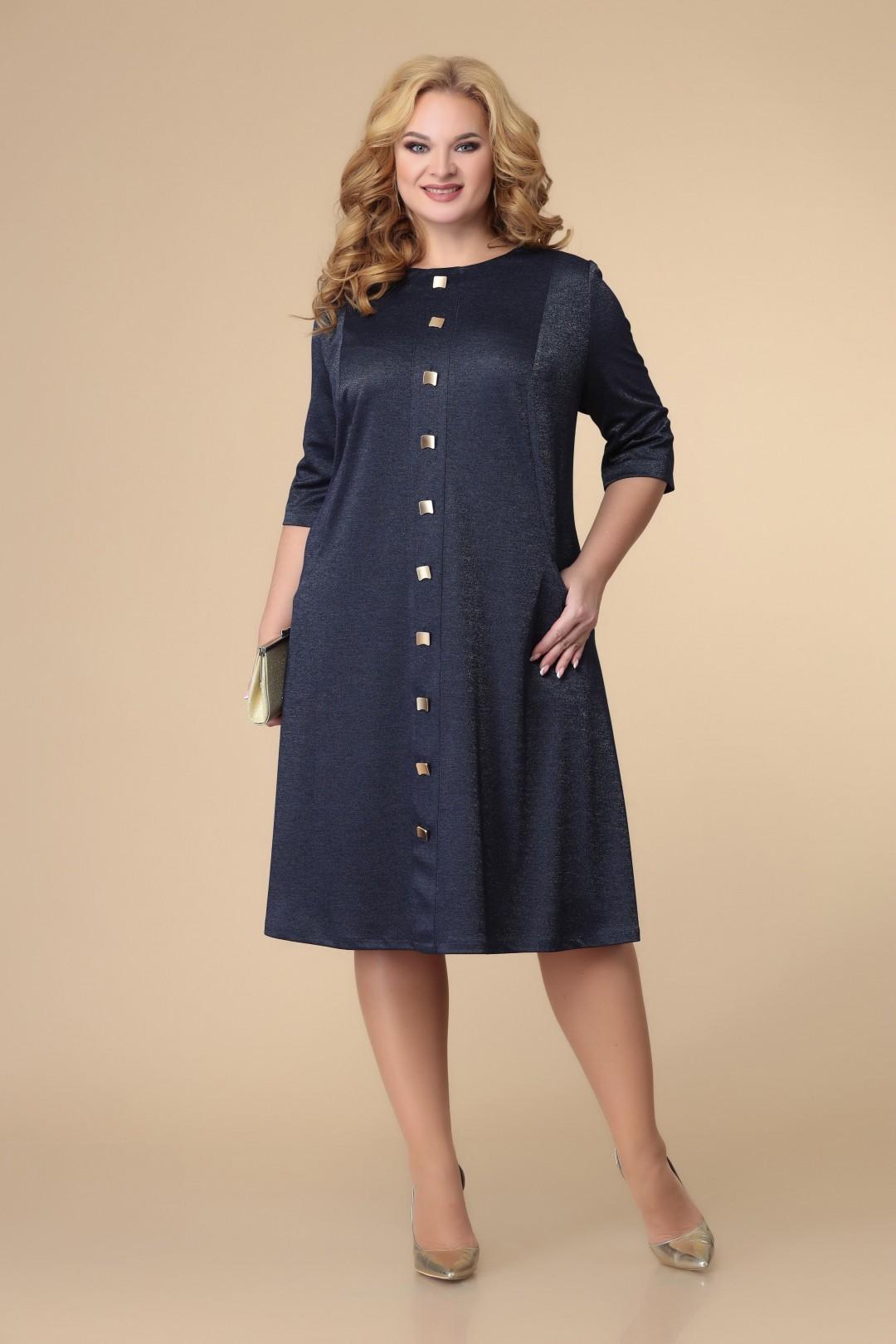 Платье Romanovich Style 1884 синий