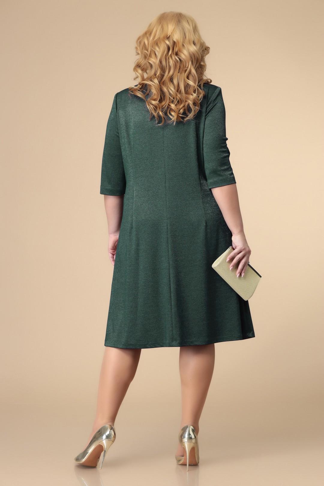 Платье Romanovich Style 1-1884 зелень