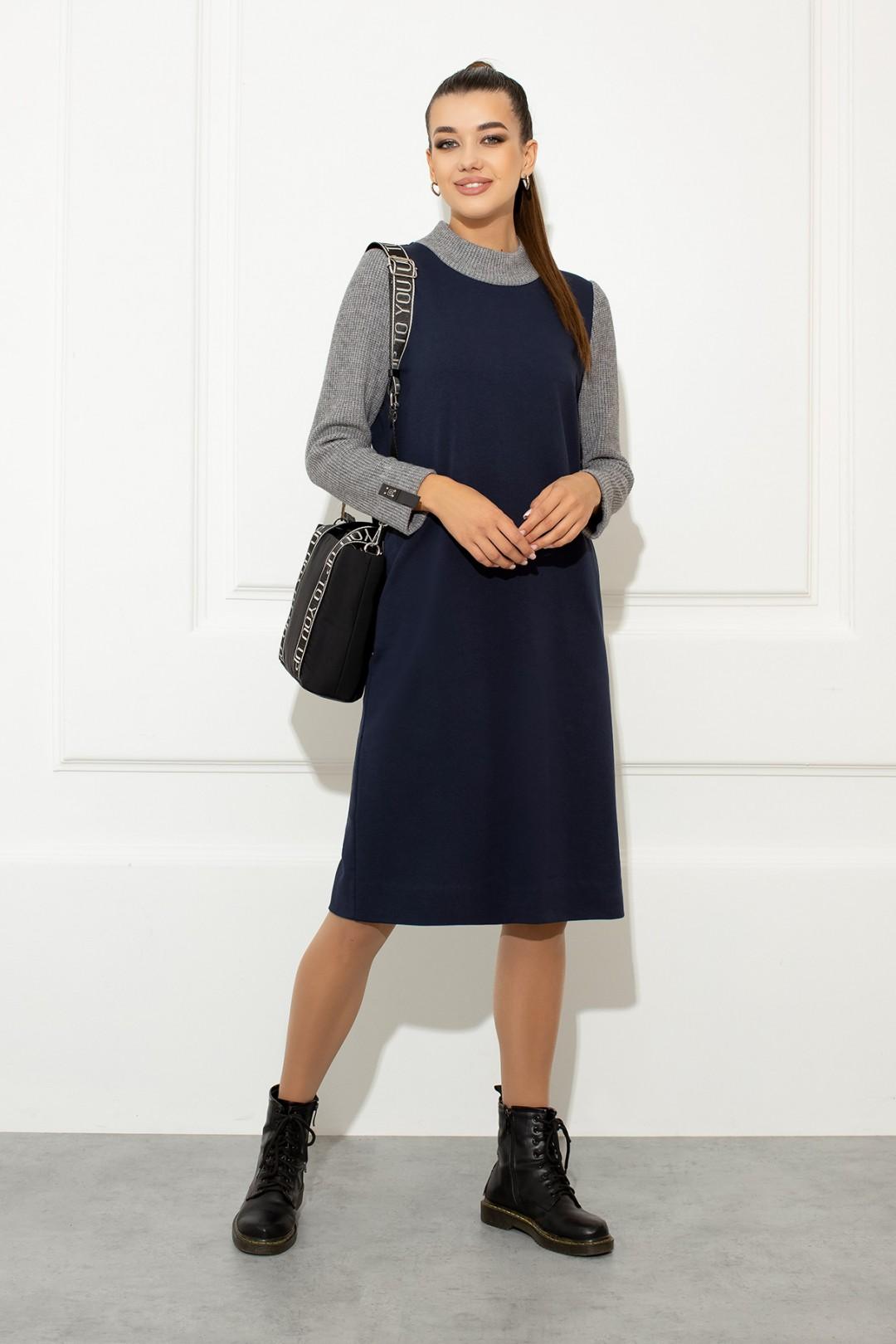 Платье Samnari Т-148 синий