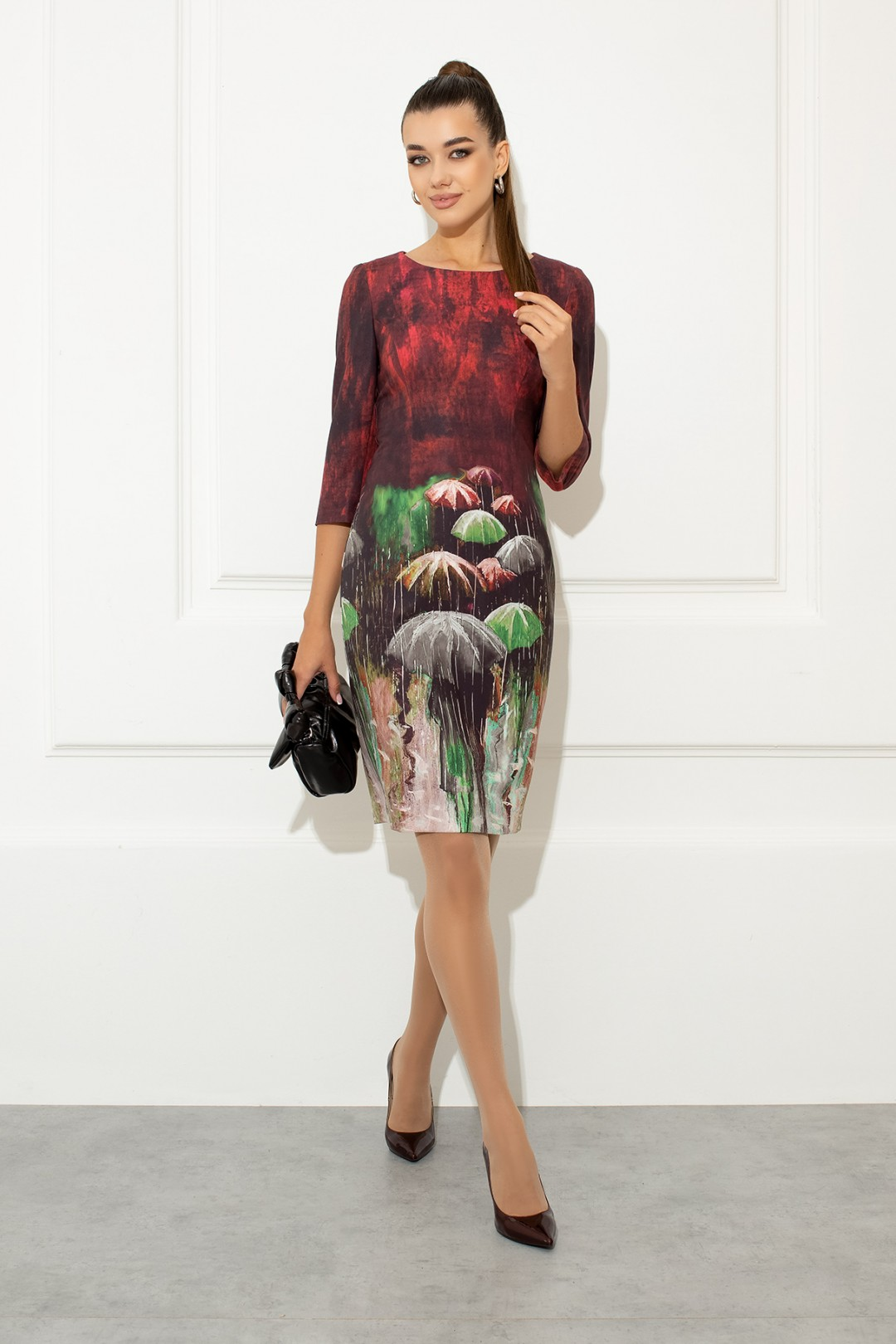 Платье Samnari Т-149 мультиколор