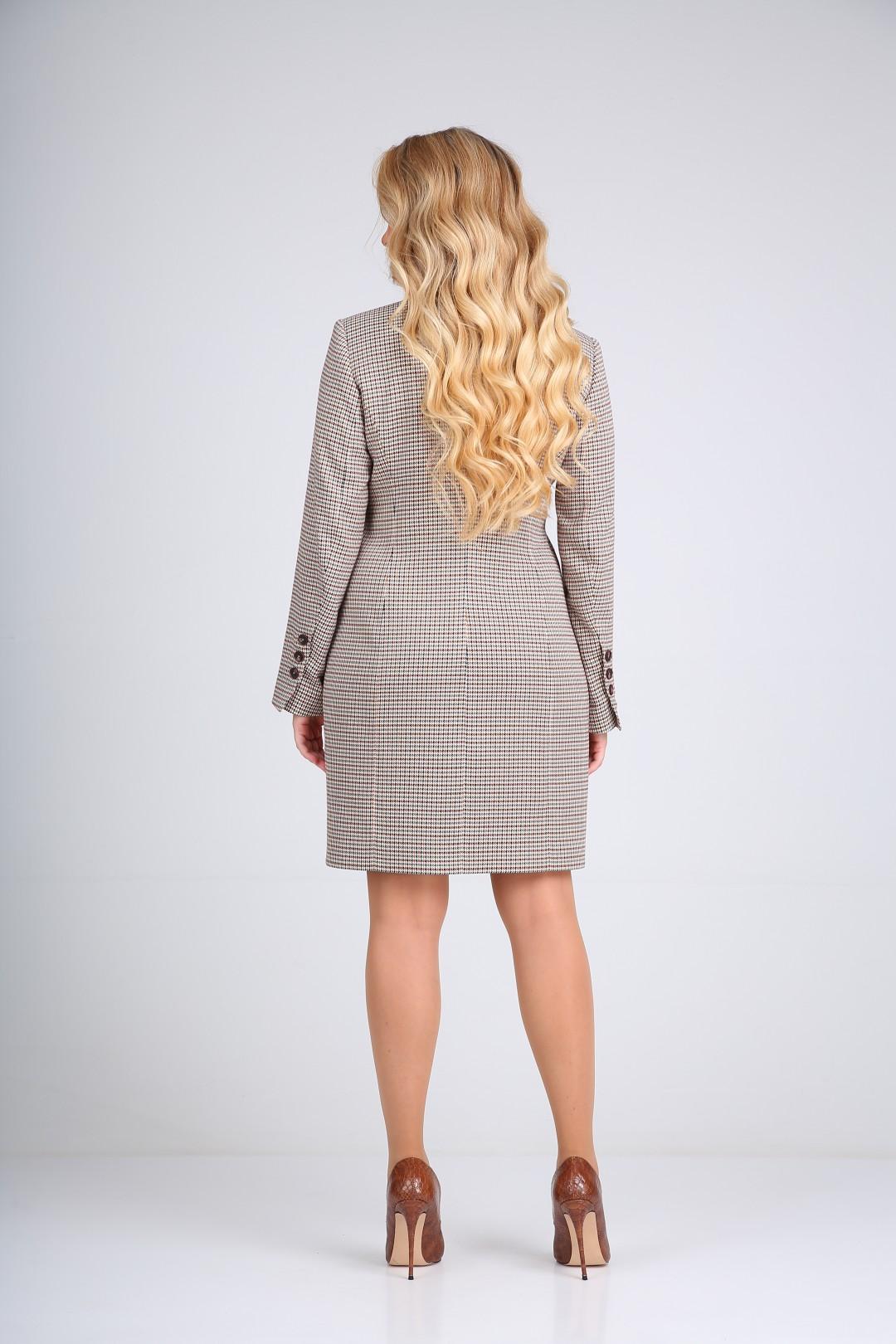 Платье SandyNa 130101 бордо