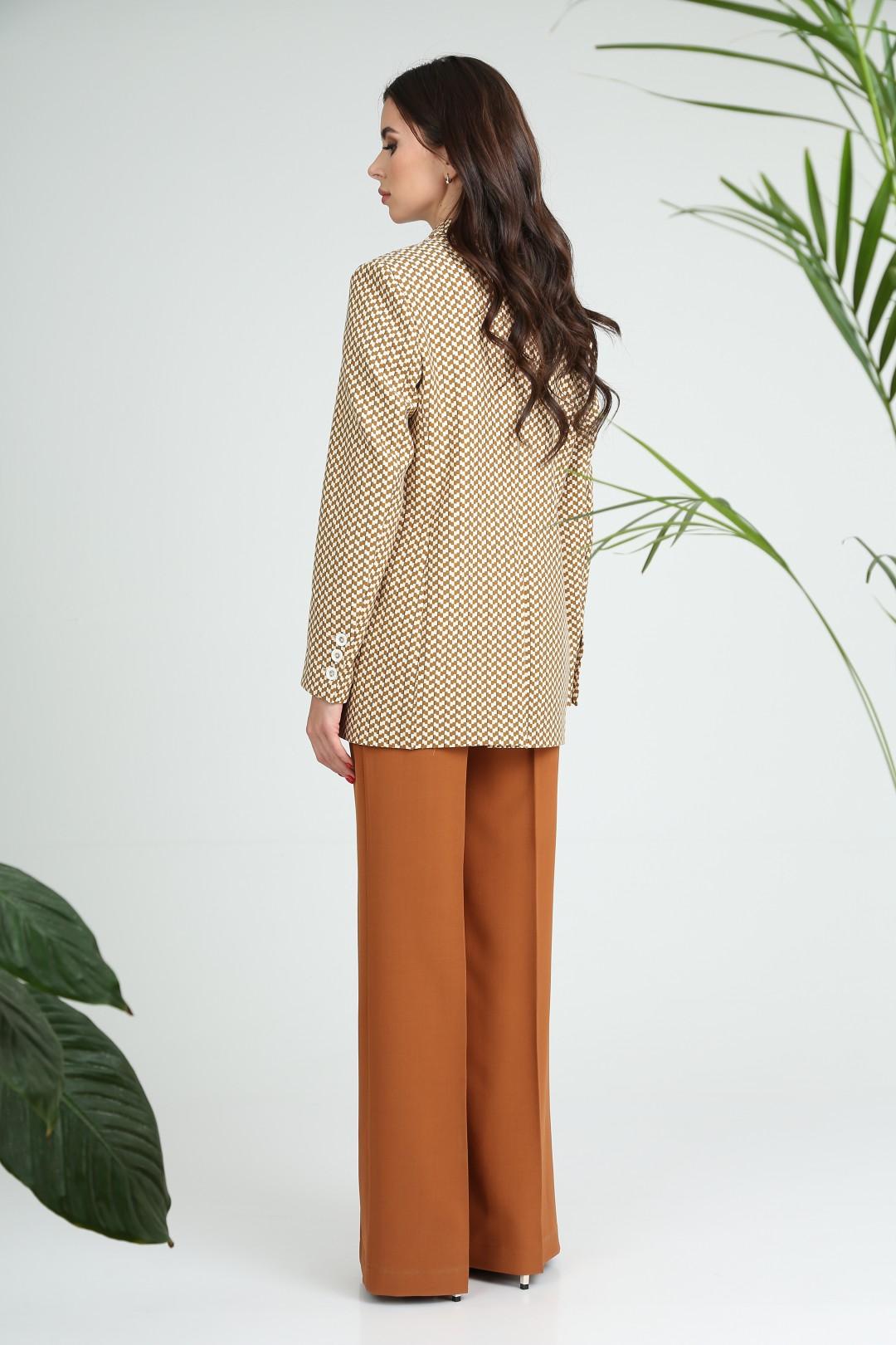 Жакет SandyNa 13934 желто-коричневый