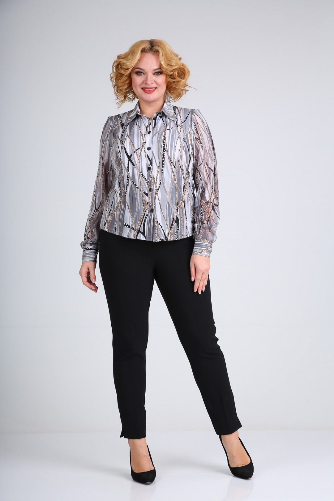 Блузка SOVITA 105 серый