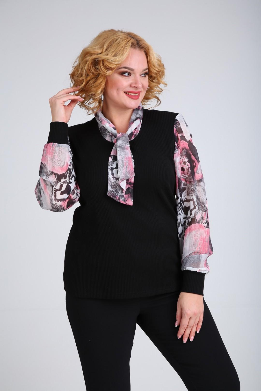 Блузка SOVITA 107 абстракция