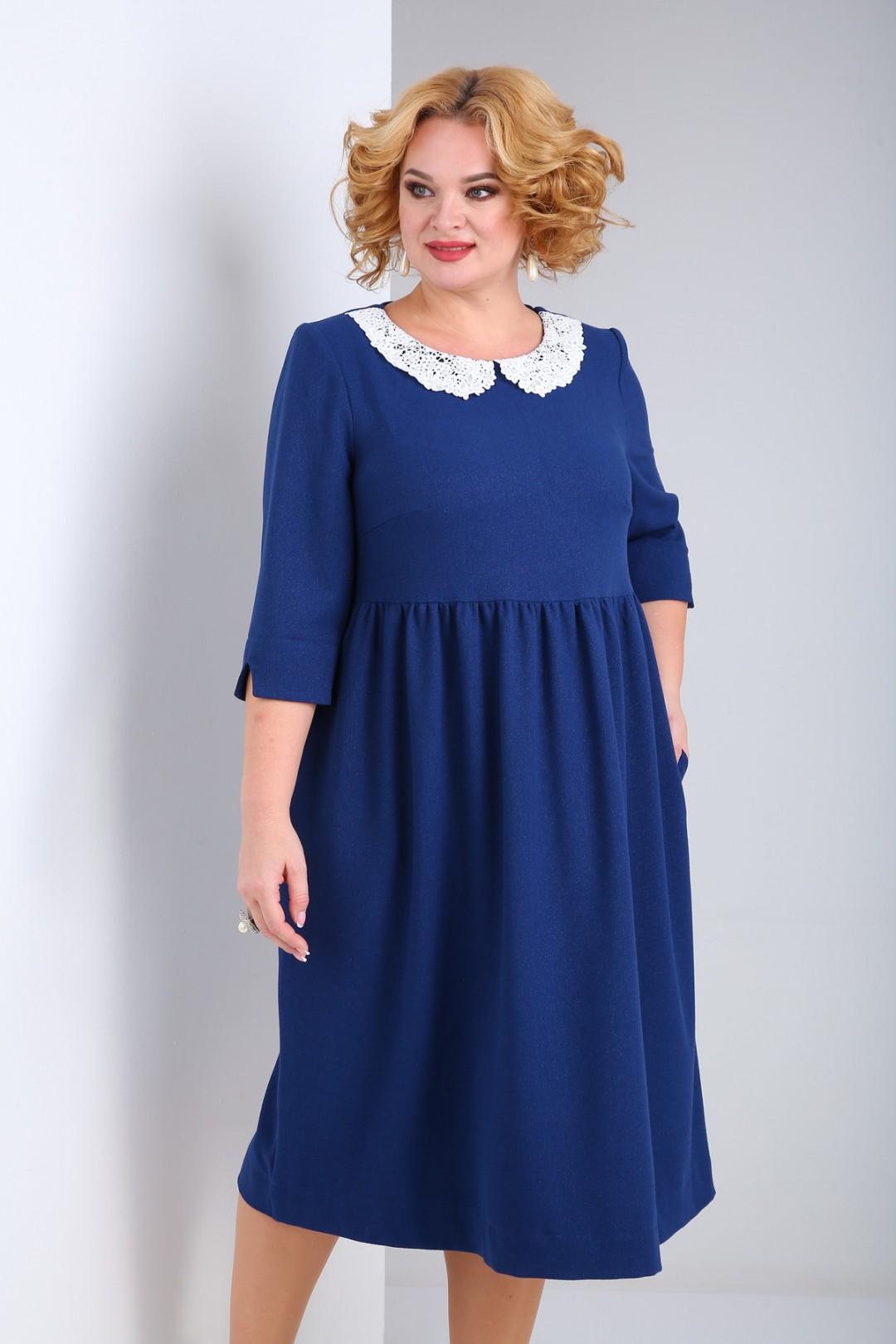 Платье SOVITA 2132 синий