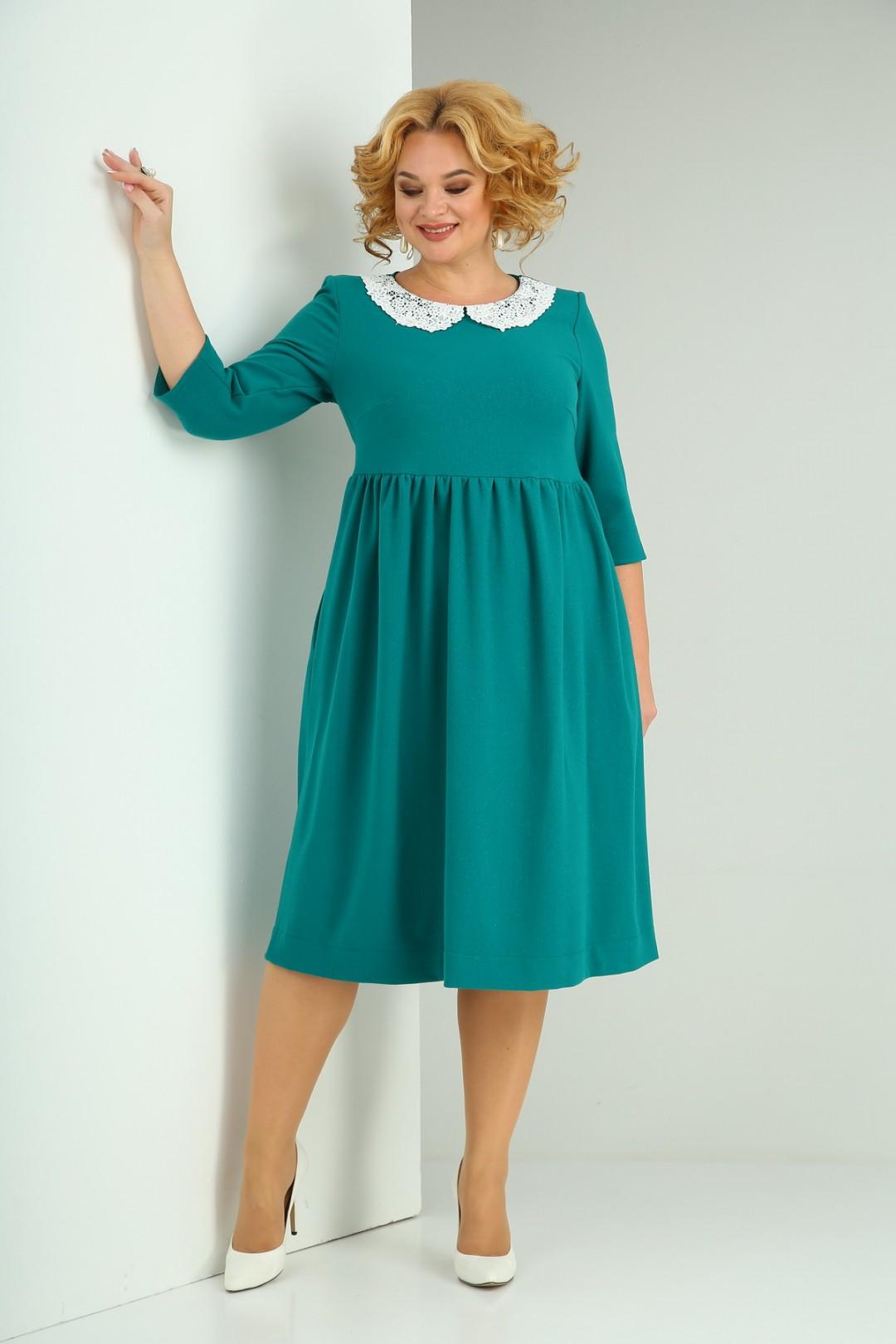Платье SOVITA 2132 зелёное