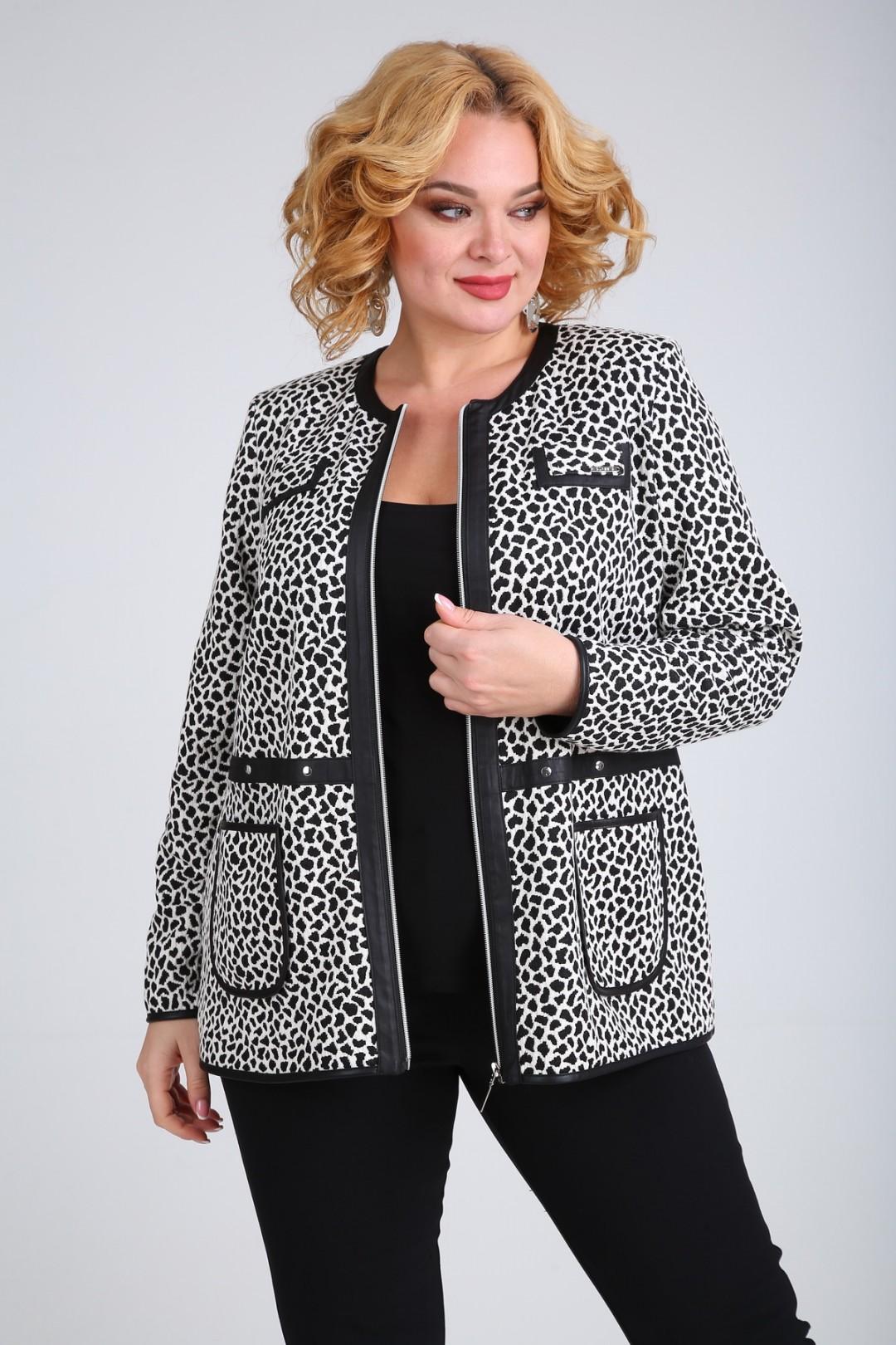 Жакет SOVITA 653 леопард