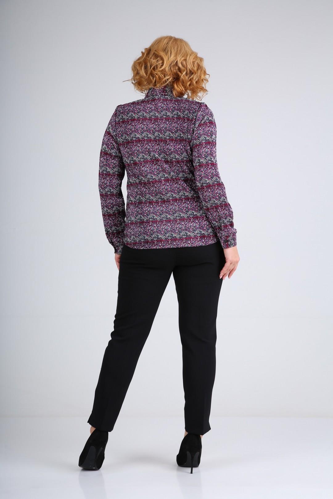 Блузка SOVITA 663 фиолетовый