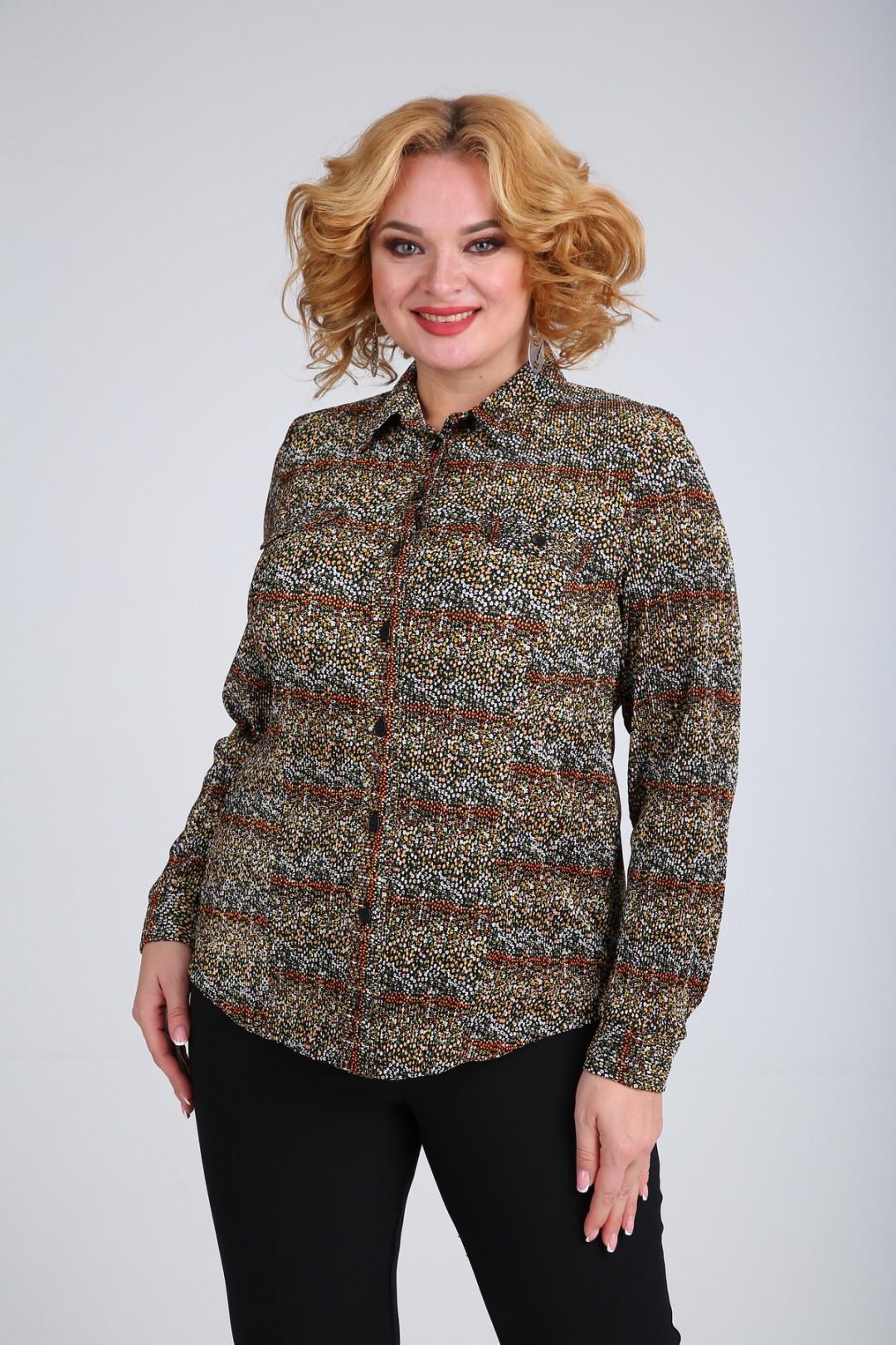 Блузка SOVITA 663 коричневый
