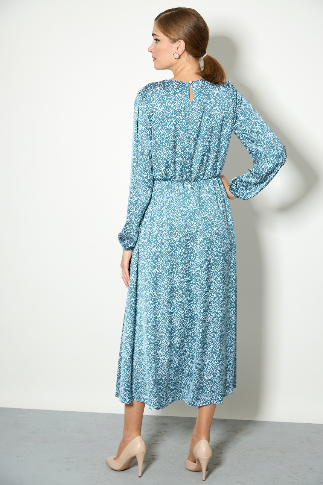 Платье Stefany 836a бирюзовый