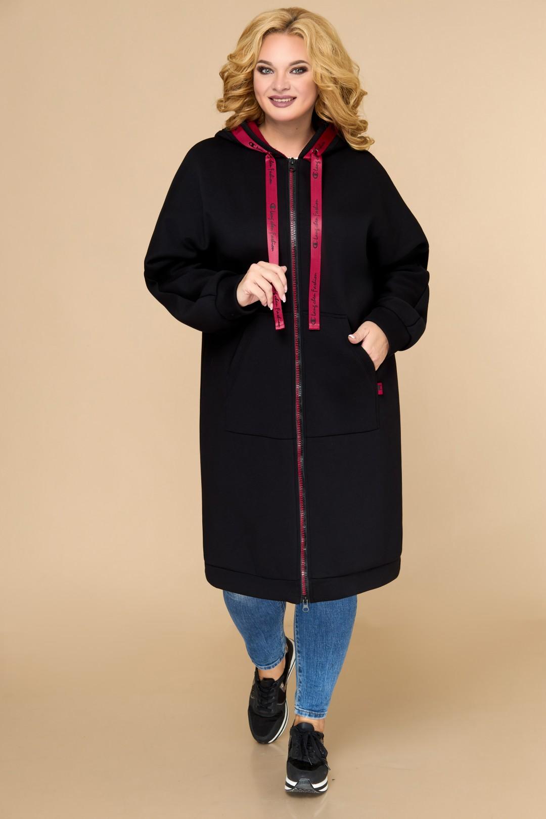 Пальто Светлана-Стиль 1611 чёрный