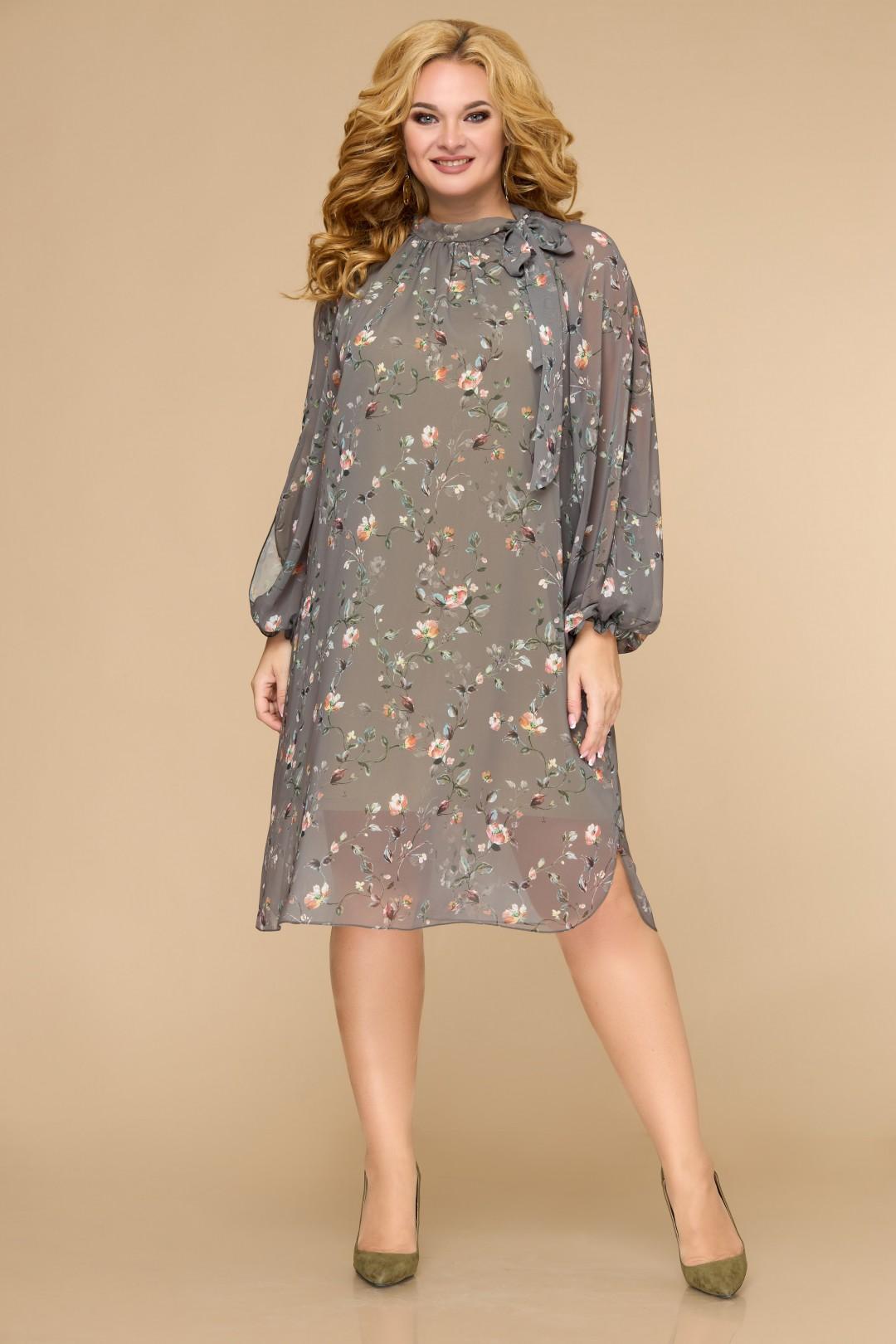 Платье Светлана-Стиль 1706 оливковый