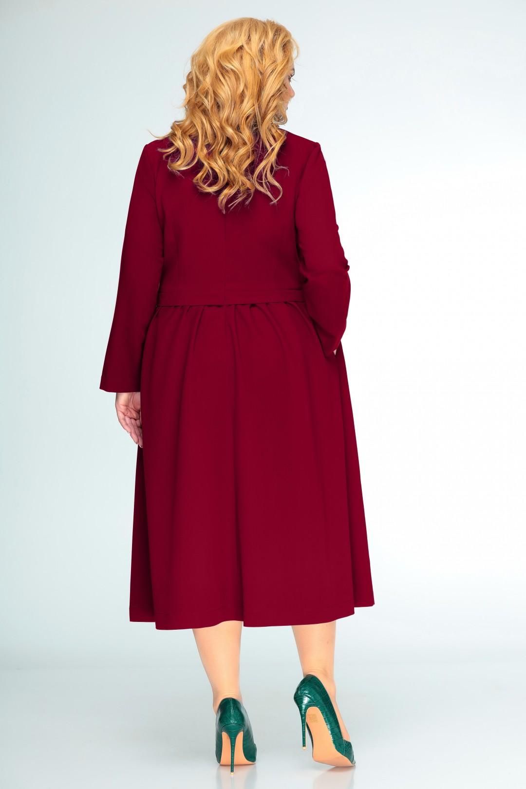 Платье Swallow 407 спелая вишня