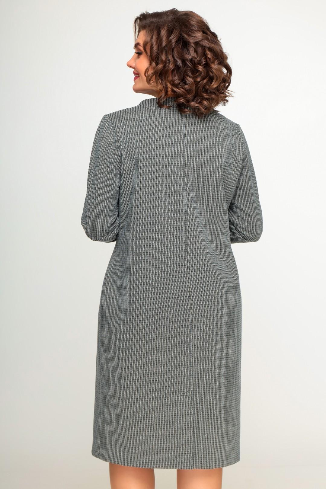 Платье Swallow 411 «серебряный иней»