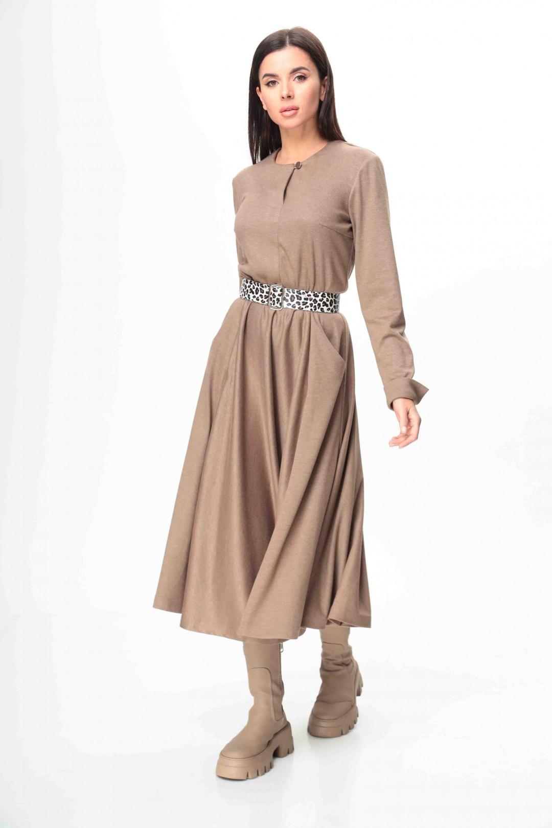 Платье Talia Fashion 373 беж