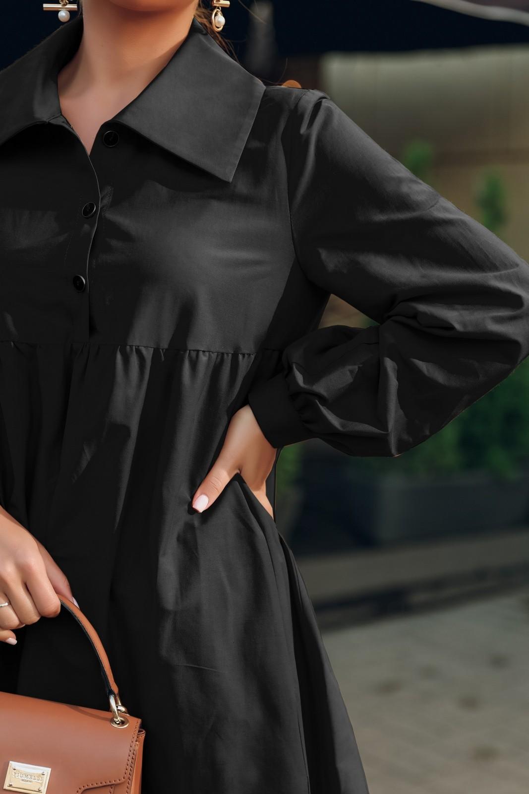 Платье Temper 441 чёрный