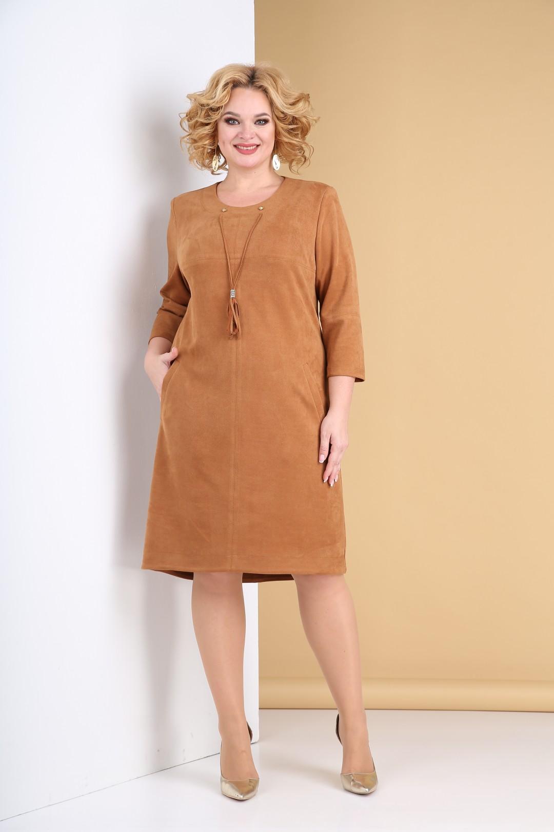 Платье Тэнси 318 карамель