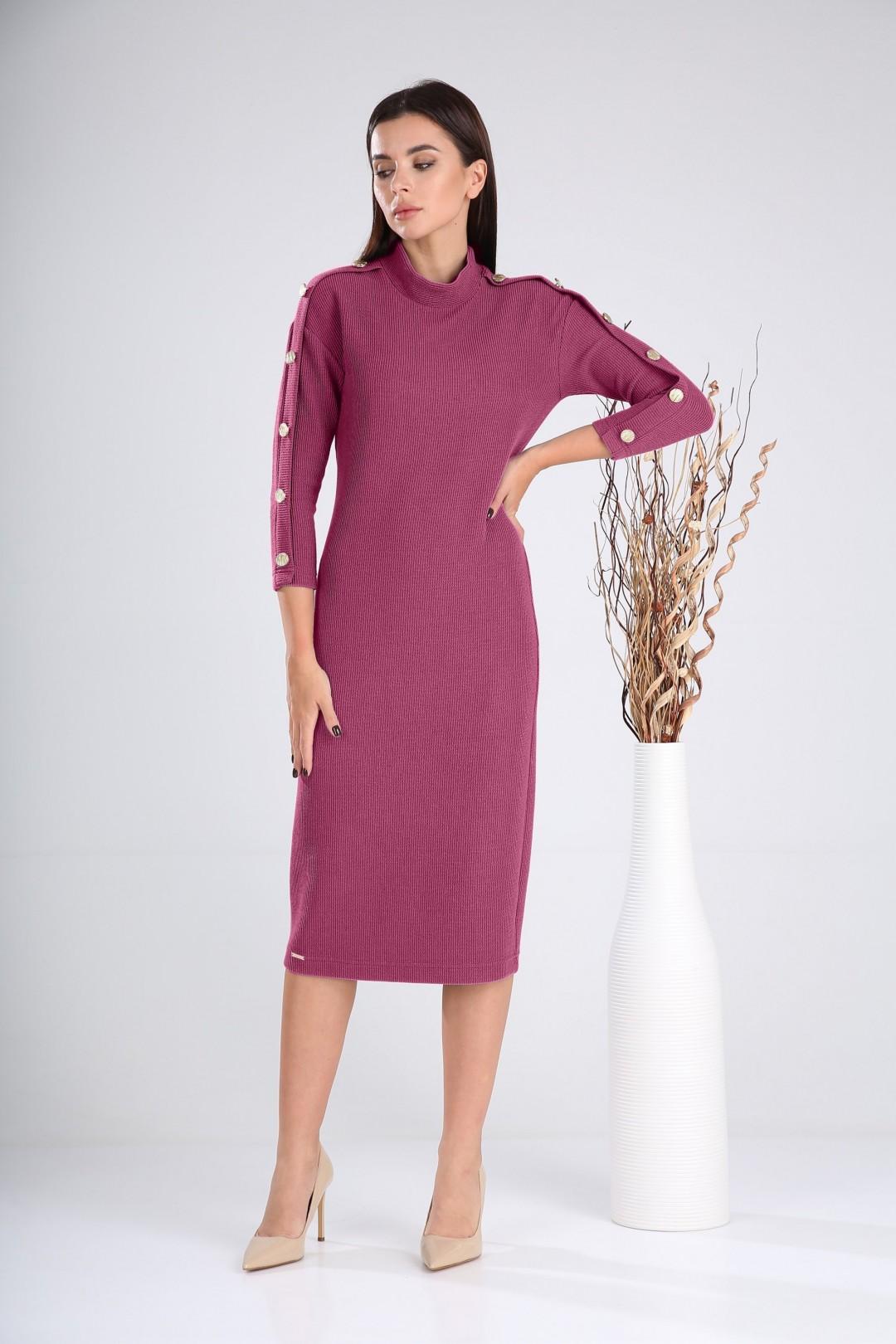 Платье Верита 2023 розовый