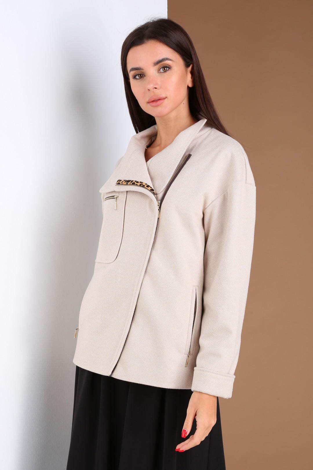 Куртка Viola Style 6040 бежевый