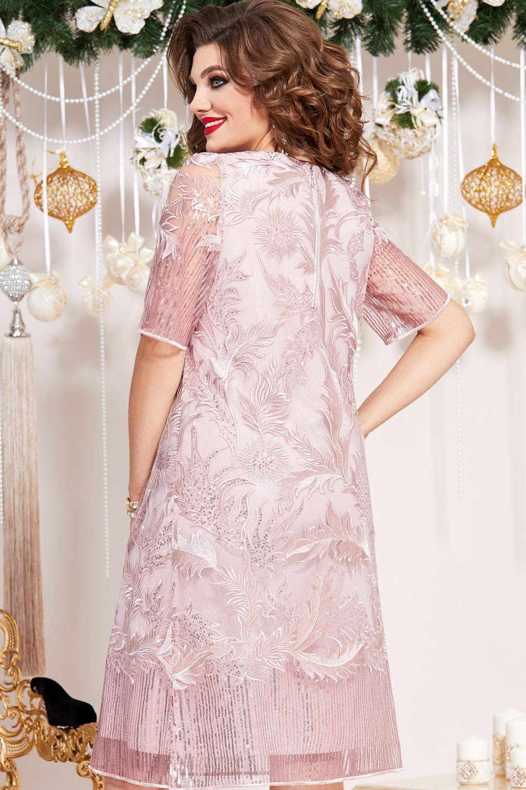 Платье Vittoria Queen 13273 пудровый