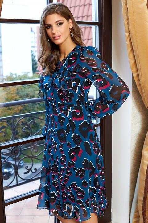Платье Айзе 2350 мультиколор