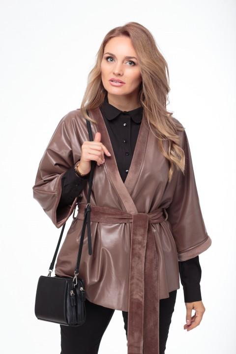 Куртка Anelli 773 кофейно-шоколадный
