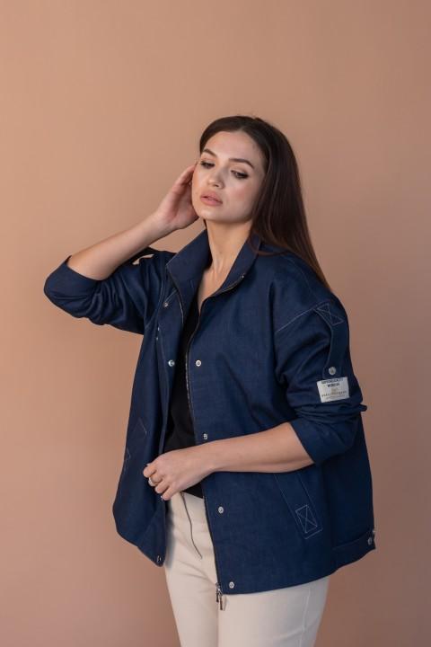 Куртка Angelina 637 джинс