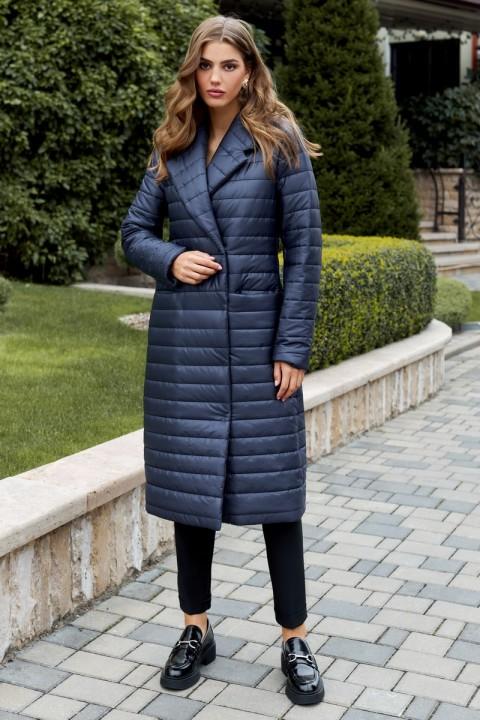 Пальто Айзе 2311 синий