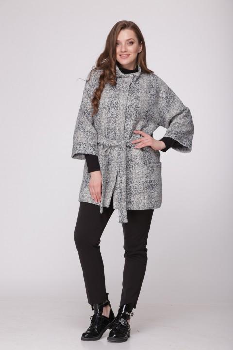 Пальто BonnaImage 194 серый