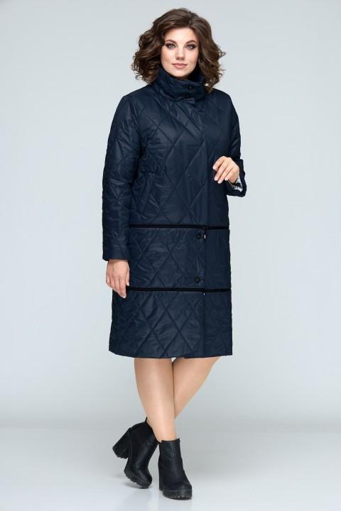 Пальто BonnaImage 609 синий