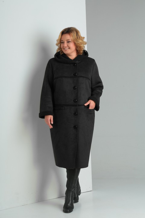 Пальто Diomant 1359 черный