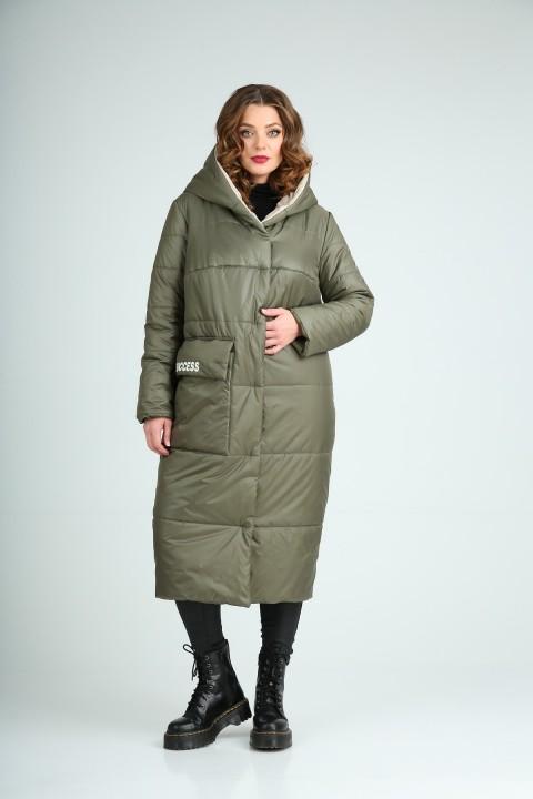 Пальто Diomant 1741 олива