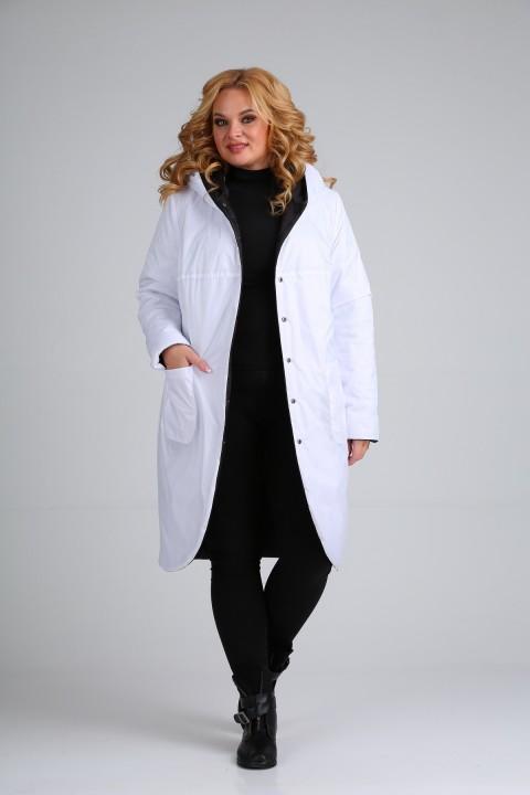 Куртка Diomant М-1328 белый / чёрный