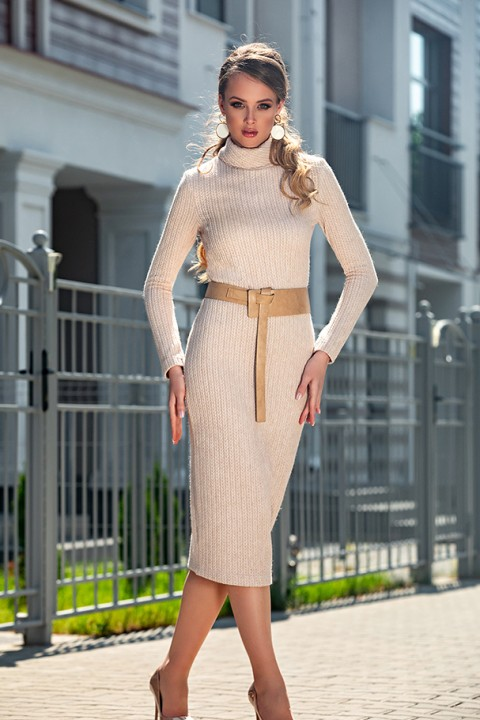 Платье Дива 1318-1 беж