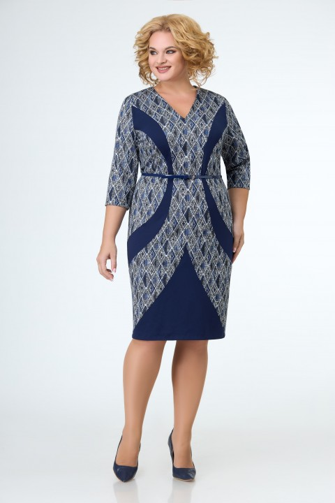Платье ELVIRA 101 синий