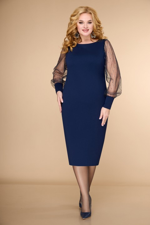 Платье ELVIRA 102 синий