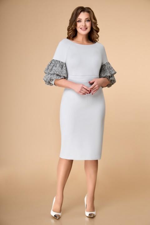 Платье ELVIRA 105 серый