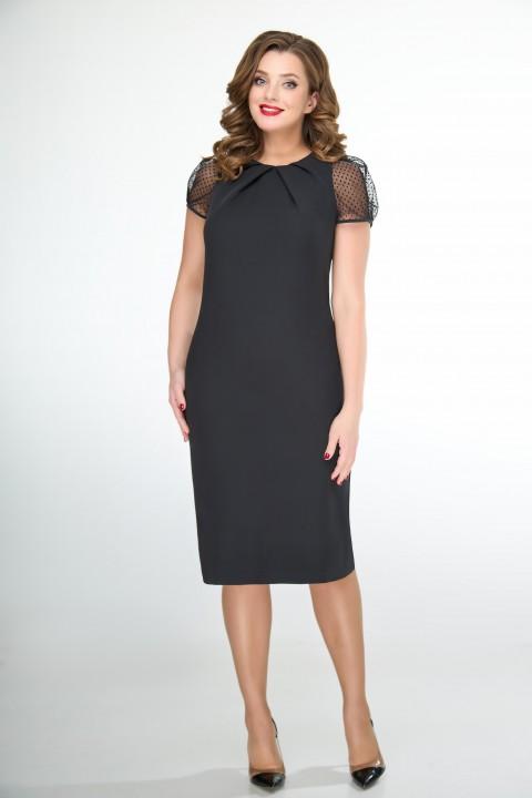 Платье ELVIRA 107 черный