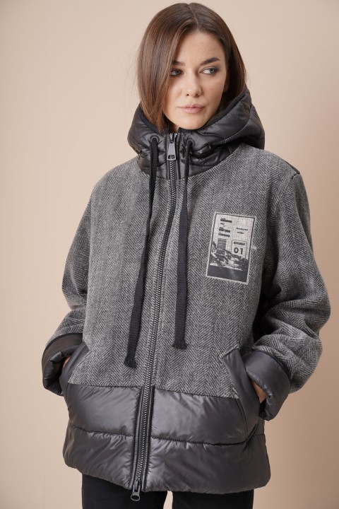 Куртка Фантазия Мод 4068 графит