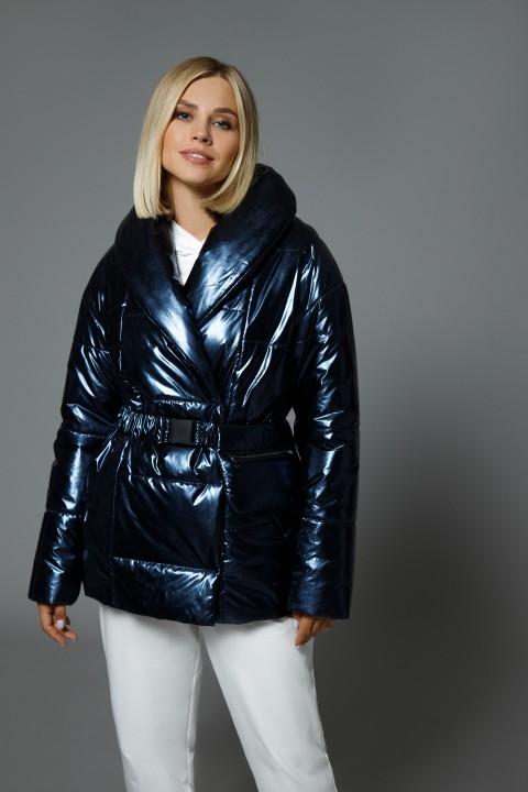 Куртка DiLiaFashion 0510 кристалл